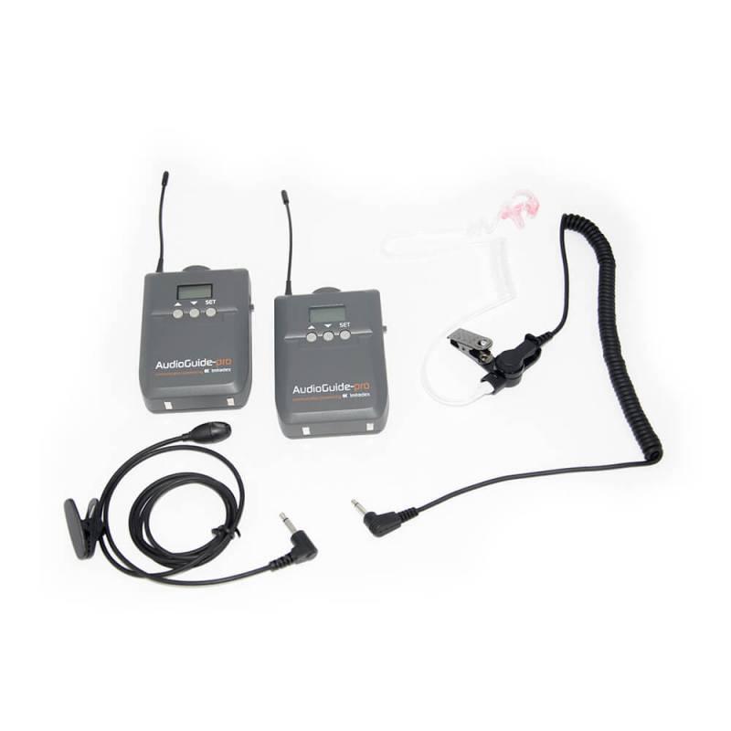 AudioGuide-pro Komplett-Set + Ohrhörer DE225