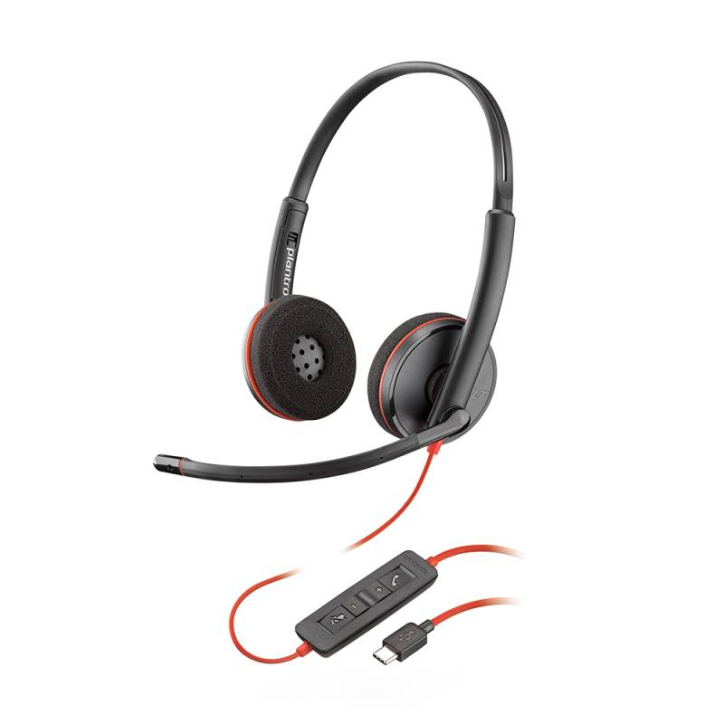 Blackwire 3220 UC USB-C binaural
