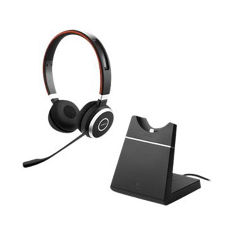 Evolve 65 MS Duo incl. Ladestation+Link 370